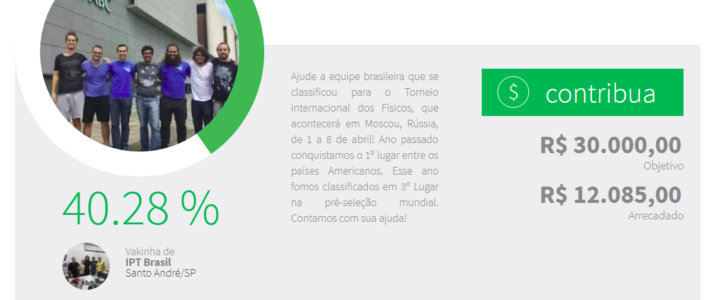 Crowdfunding for the Brazilian team